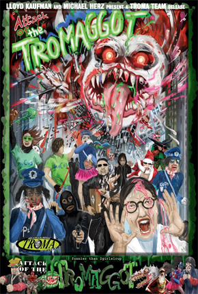 "DVD-Film ""Attack of the Tromaggot"""
